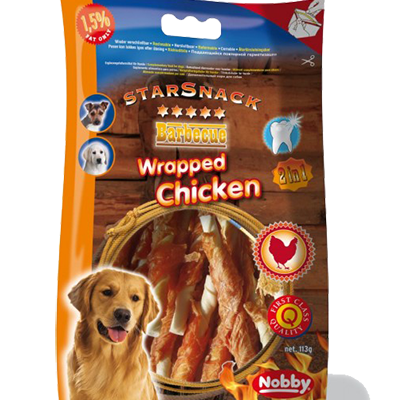 Starsnack Barbecue Wrapped Chicken