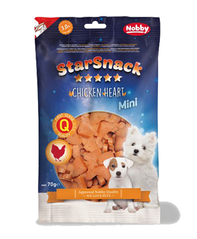Starsnack Mini Chicken Heart