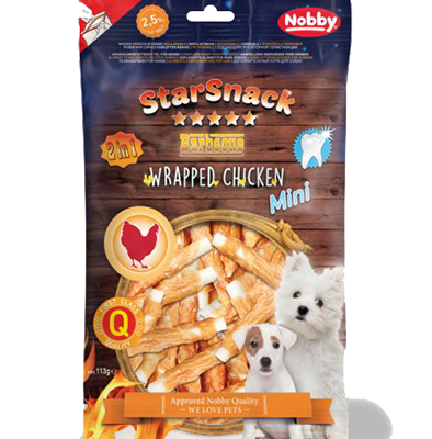 Starsnack Mini Wrapped Chicken