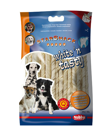 White'n tasty twisted sticks